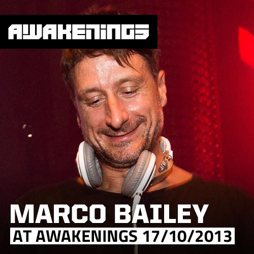 Marco Bailey at Awakenings ADE 17/10/2013