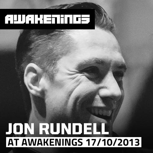 Jon Rundell at Awakenings ADE 17/10/2013