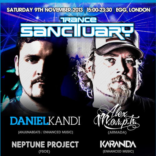 Trance Sanctuary Podcast 018 Featuring Neptune Project and Tristan C [Download]