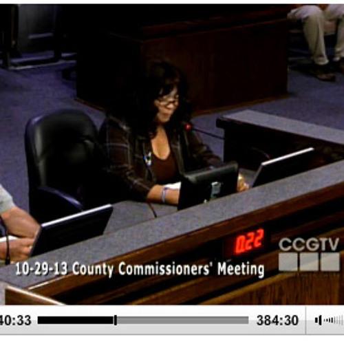Beverly Deniston Of Charlotte Hall blasts Charles County's development plan