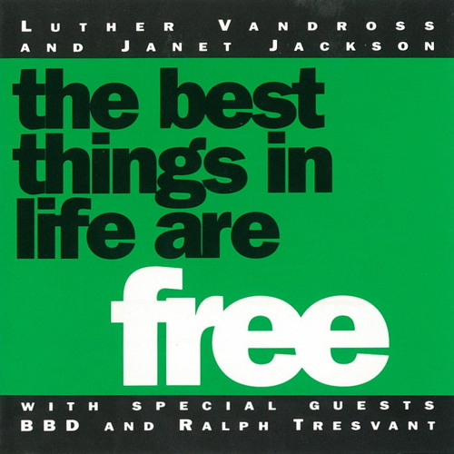 Luther Vandross & Janet Jackson - The Best Things In Life Are Free (CJ's 12'' Club Mix) (1992)