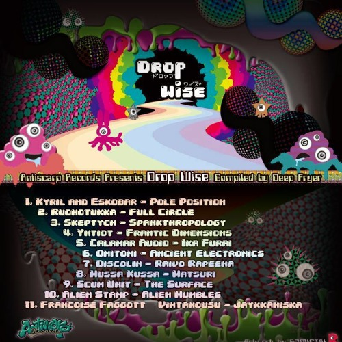 Full Circle (Preview) - Antiscarp Records - VA Drop Wise