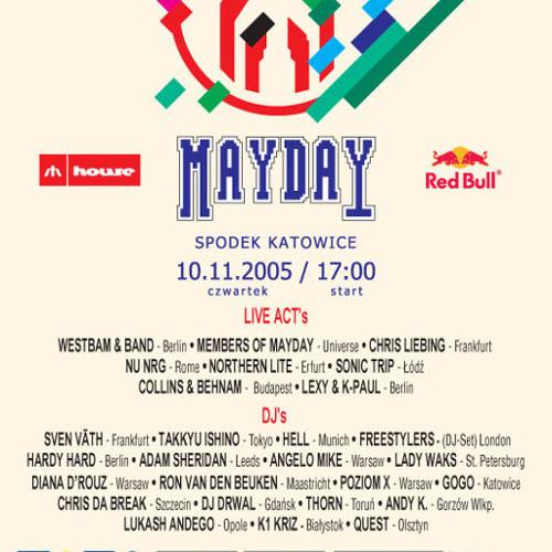 Lukash Andego - live @ Mayday Poland 2005,  Spodek Katowice (10.11.05)