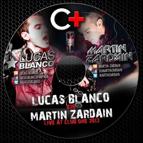 Lucas Blanco b2b Martin Zardain live at +Club One 2013