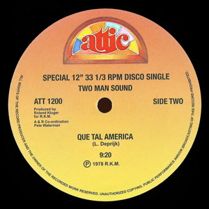 "Que Tal America (Dj ""S"" Bootleg Extended Dance Remix) by Two Man Sound"