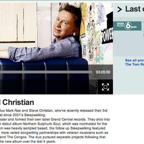 Rae & Christian in conversation with Tom Robinson BBC6 Music