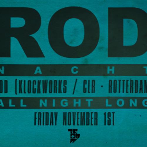 ROD @ RODnacht, Trouw, Amsterdam (1-11-2013) PART 1 + 2