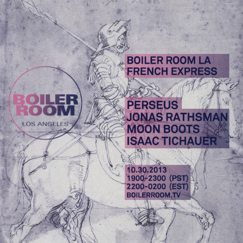 Perseus 35 min Boiler Room LA DJ Set