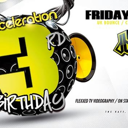Acceleration 3rd Birthday Promo