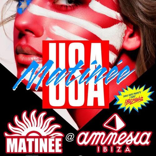 DJ HECTOR FONSECA Live At MATINEE AMNESIA IBIZA