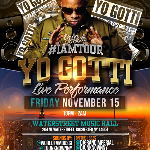 Yo Gotti NY Show, ArtistAuditions.com Radio Ad