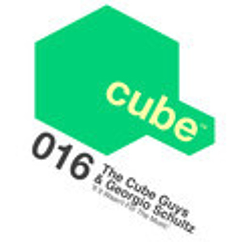 """THE CUBE GUYS & GEORGIO SCHULTZ If it Wasen""""t For The Music""""(The Cube Guys Mix)Out Now!"""