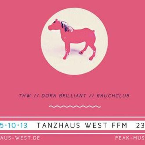 Alex Flitsch @ Tanzhaus West 25.10.2013 Pt. 2