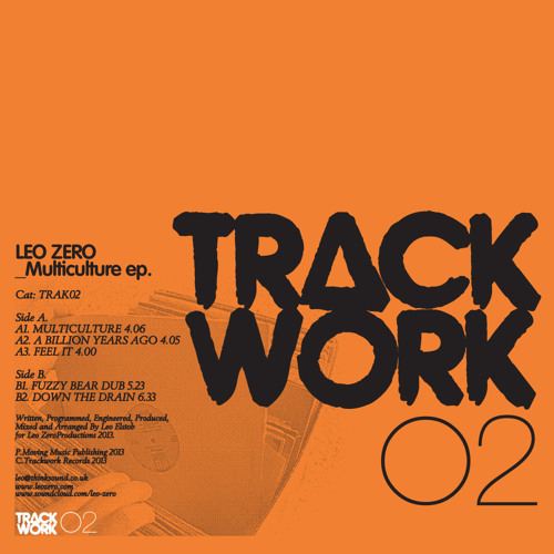 Leo Zero 'Down The Drain' TRACKWORK TRAK02