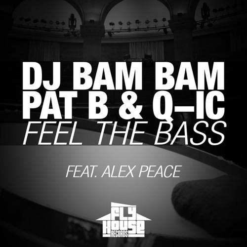 DJ Bam Bam, Pat B & Q-ic feat. Alex Peace - Feel The Bass