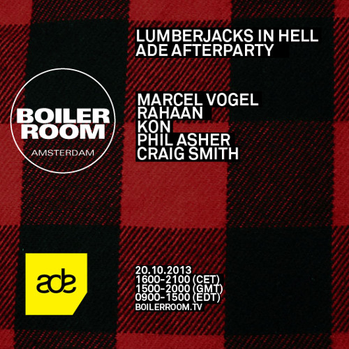 Marcel Vogel 45 min Boiler Room x ADE 2013 mix