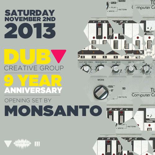 DCG 9 Year Anniversary @ Sound Bar Orlando- Opening set by MONSANTO