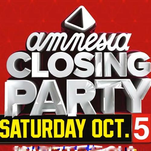 Neverdogs @ Amnesia Closing Party Ibiza 5 October 2013