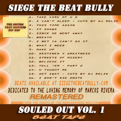 sOULEd oUt  - vOl. 1 - bEAt tAPe - sEt - rEMASTEREd & eXTENDEd - (dOWNLOAd LINk)