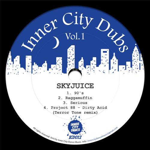 Skyjuice - Inner City Dubs Volume 1 OUT NOW