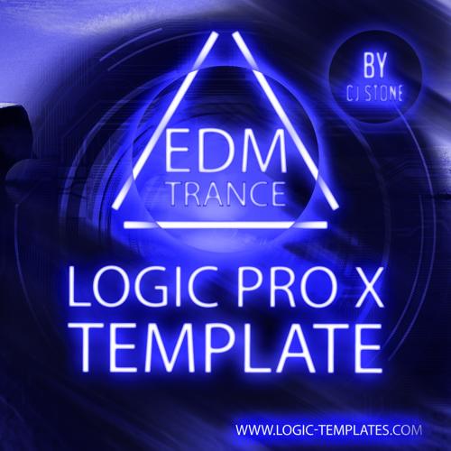 EDM Progressive Trance Logic Pro X Template