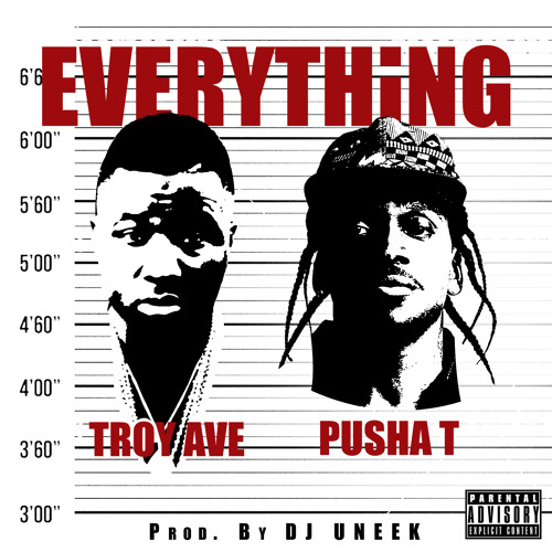 Troy Ave - EVERYTHING ft. Pusha T prod by. DJ Uneek