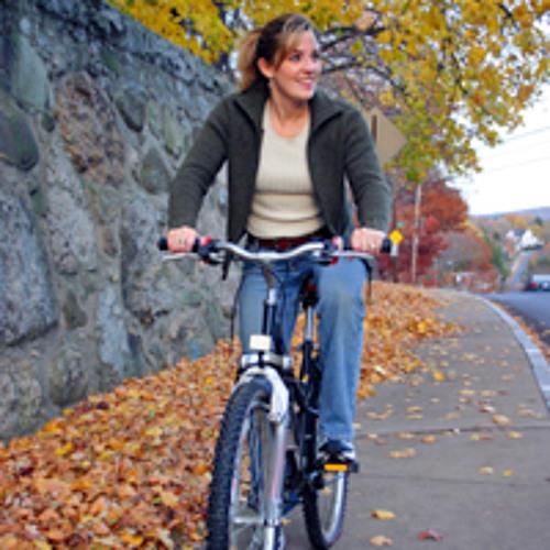Darf man mit dem Fahrrad auf dem Trottoir fahren?