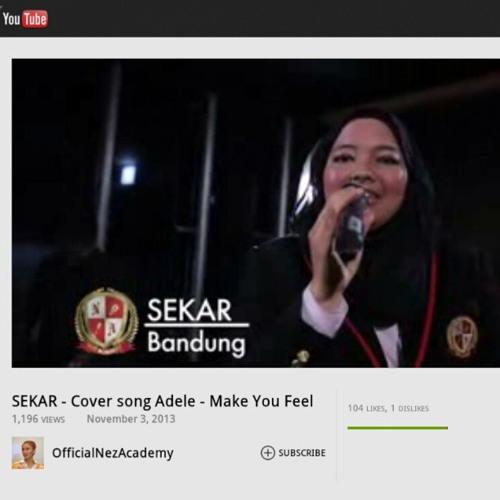SEKAR - Cover Song Adele - Make You Feel My Love #Nezacademy 2013