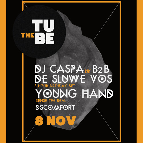 DJ CASPA THE TUBE GUEST MIX...5.11.13