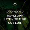 Download: Royksopp 'Running To The Sea' (Late Nite Tuff Guy remix)