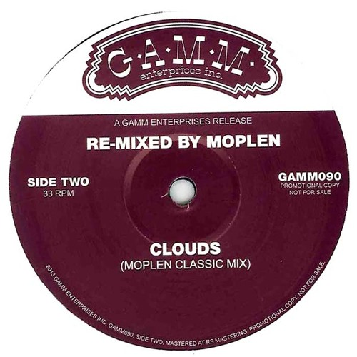 Clouds (Moplen classic mix) # OUT ON GAMM #