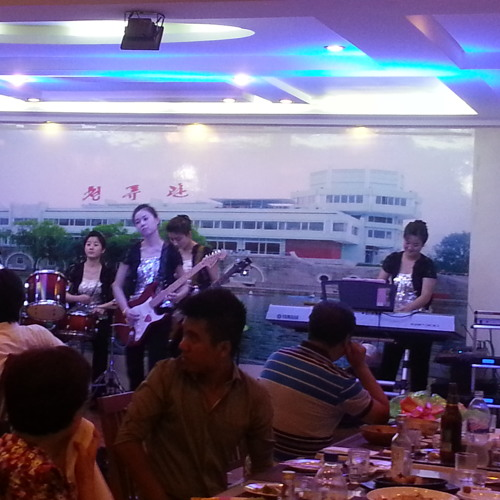 "North Korean cover band in Rangoon, Burma, plays ""Take me Home, Country Roads"""