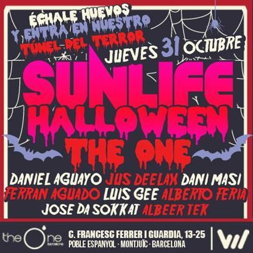 Dani Masi - Live at Sunlife Halloween (The One Barcelona) 31.10.2013