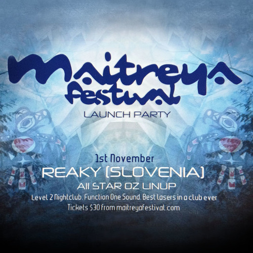 Reaky - Live @ Maitreya Launch Party, Melbourne - 01.11.2013 - PART 2