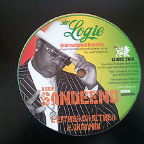 """OUT NOW"" Sandeeno Promo Sample SLI003 SIR LOGIE INTERNATIONAL RECORDS 2013"