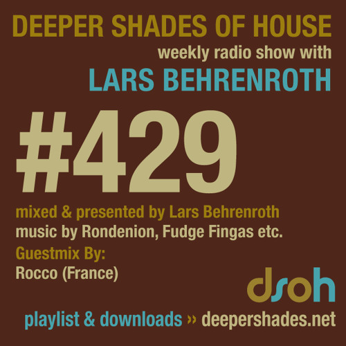 DSoH #429 2nd hour - guest mix by ROCCO