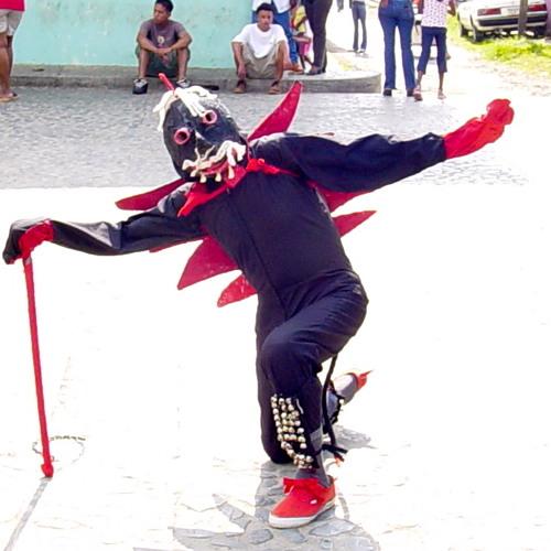 Celedonio Molinar Ávila-Legendary Major Devil in Congo Tradition of Portobelo, Panama 2001