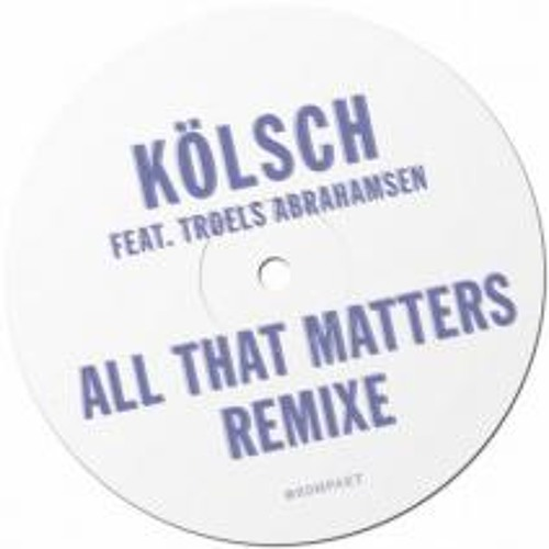 Kölsch - All That Matters (Fango Ritual Mix) [128 Kbps]