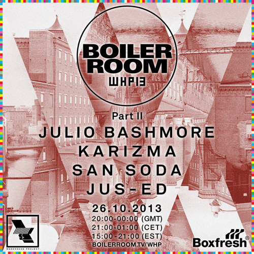 Jus-Ed Boiler Room x Warehouse Project mix