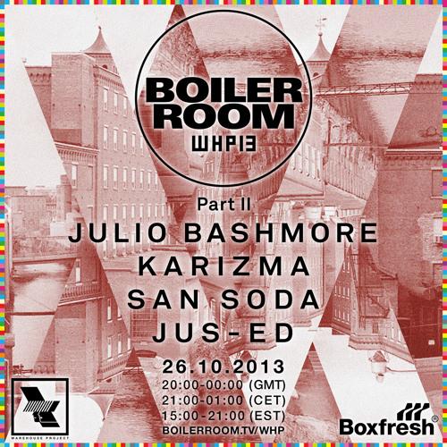 San Soda Boiler Room x Warehouse Project mix