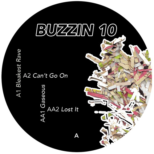 "WRND018: BUZZIN 10 12"" EP released 02.12.2013"