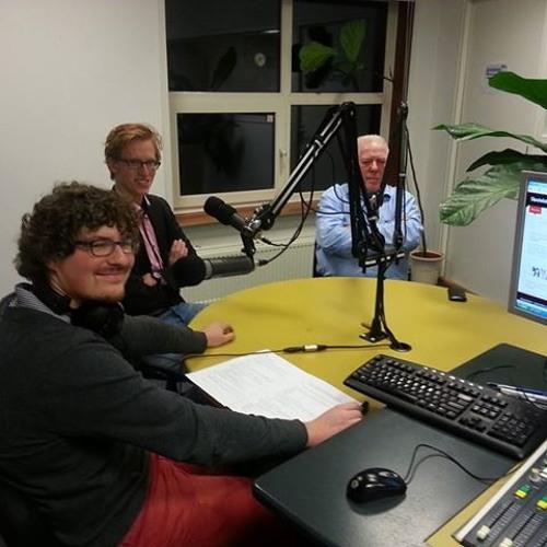 2013-11-06 Rondom de Raad met Aad van der Luit, Luck van Leeuwen, Quintus Backhuys en LeidenKiest