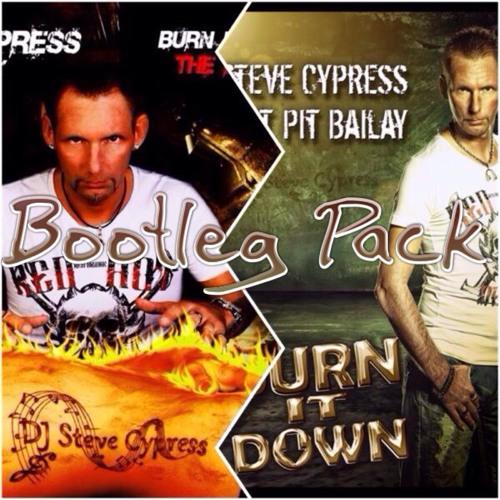 Steve Cypress ft. Pit Bailay vs. TJR - Burnin Suckaz Down (Starjack & Collini Booty Masher)