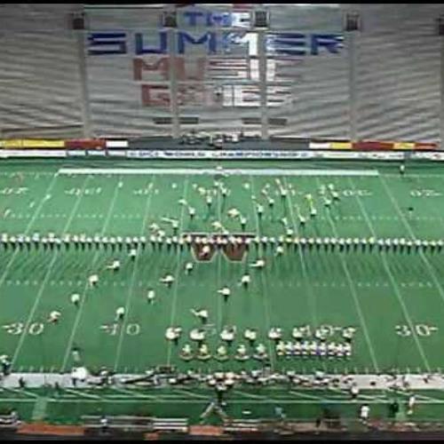 1992 Cavaliers Ensemble Percussion Judge's tape - Finals