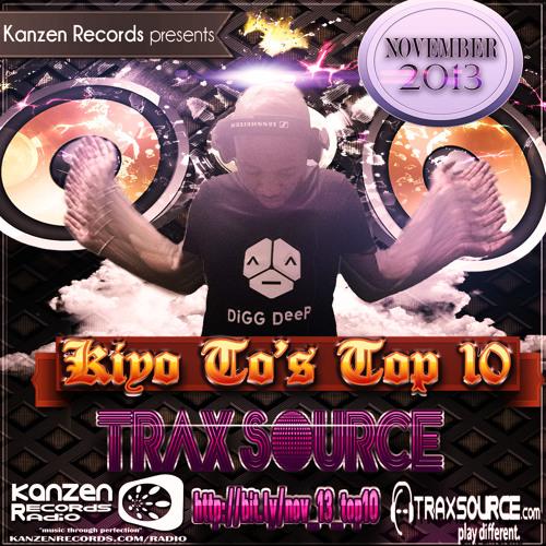 Kiyo To - Traxsource Top 10 (Nov 2013)