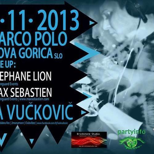 Max Sebastien - Live @ TYVH ( Marco Polo 2.11.13 )