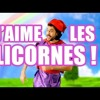 J'aime Les Licornes - Legrandjd