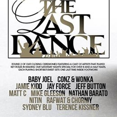 Sydney Blu Live at Footwork,Toronto, Oct 19, 2013 (The Last Dance)