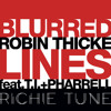 Robin Thicke Ft. T.I. & Pharrell - Blurred Lines ( Richie Tune Lazy Remix )