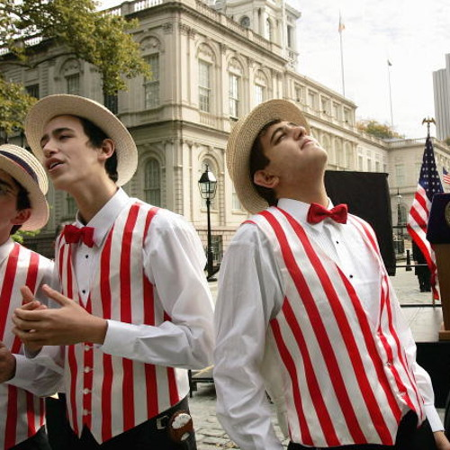 The Colin Murray Show - Barbershop Quartet 'I Just Can't Get Enough'